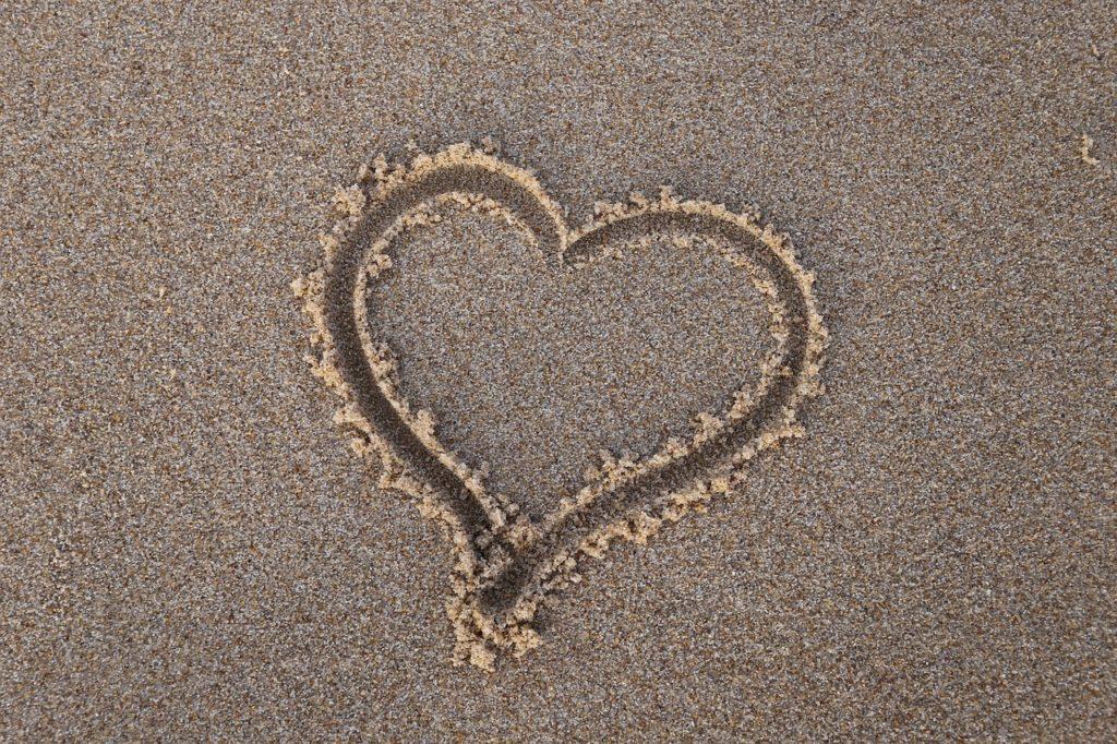 砂のハート