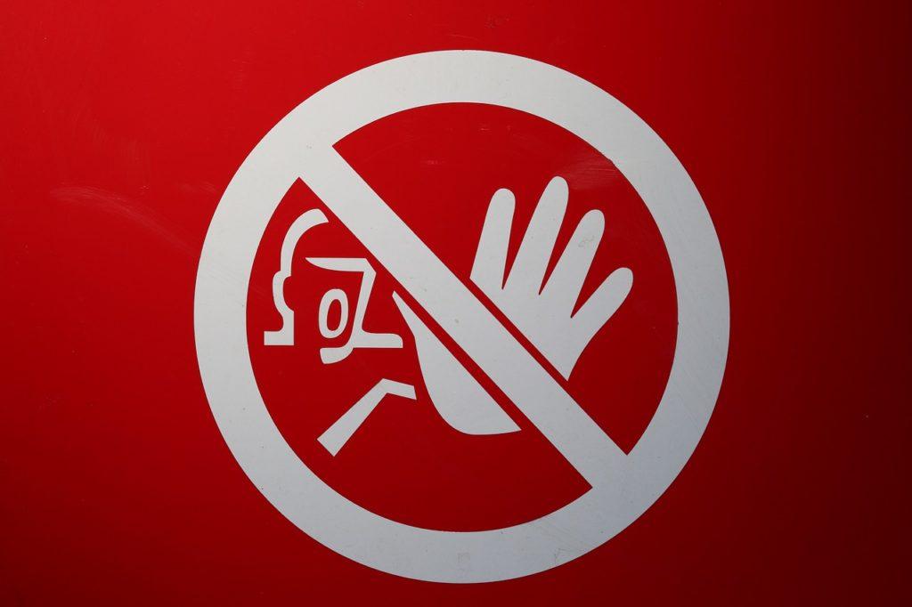 危険を表す標識