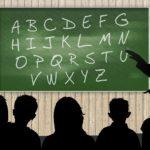 アルファベットを学ぶ