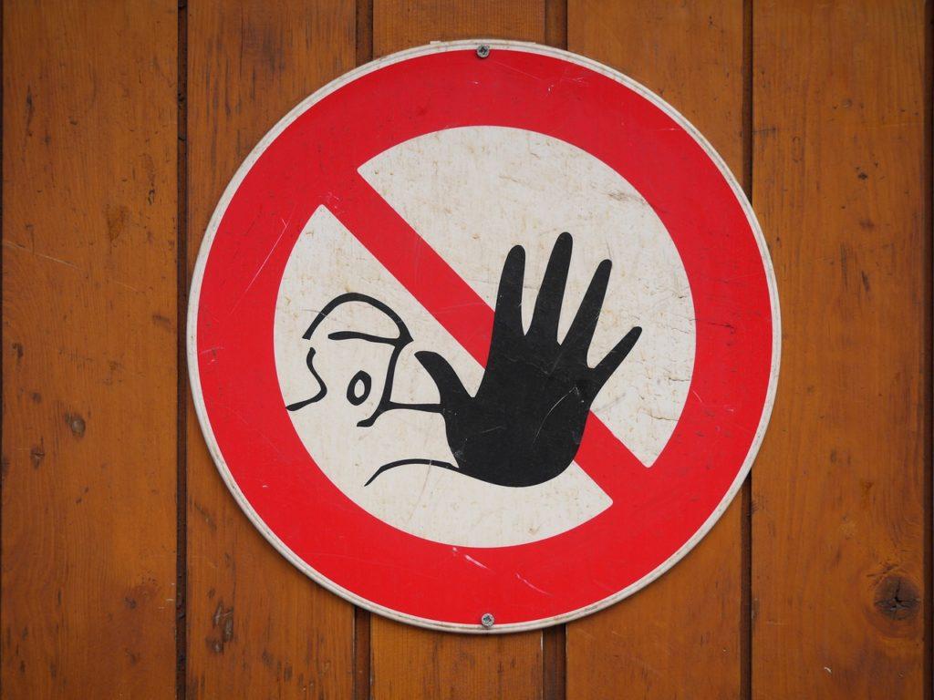 危険な標識