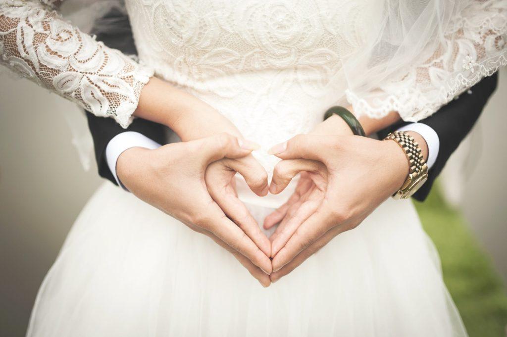 新郎と花嫁