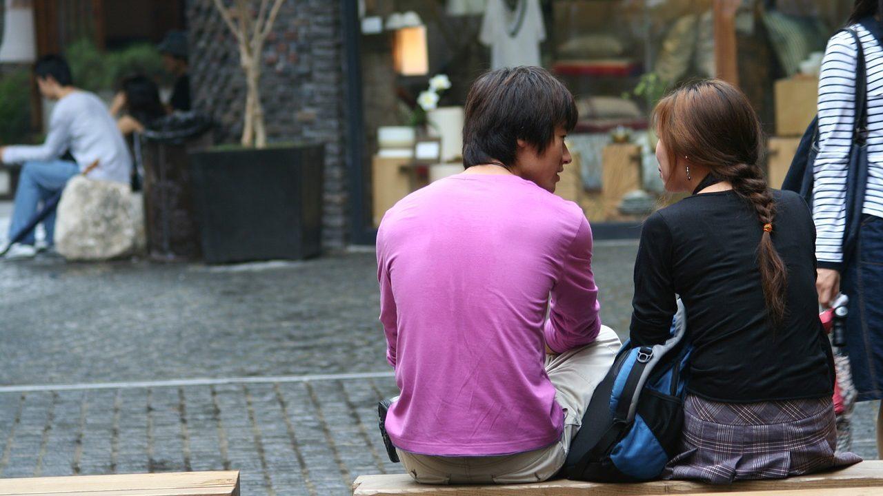 韓国のカップル