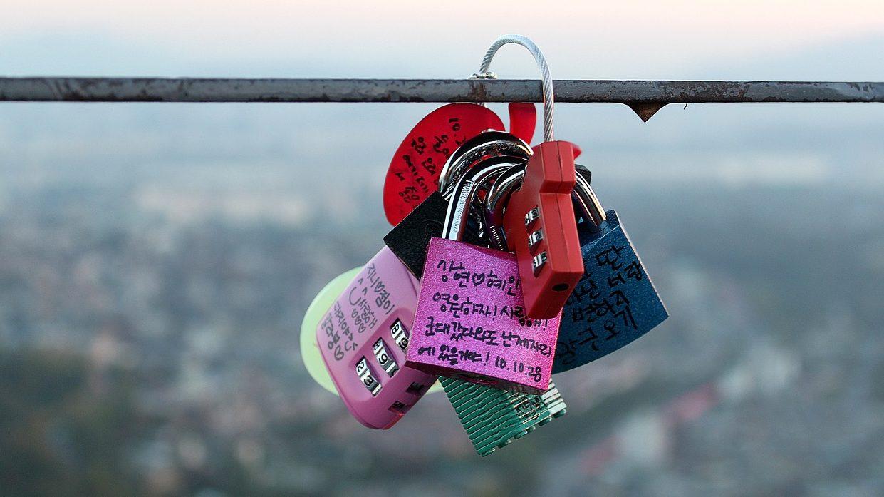 韓国の愛の鍵