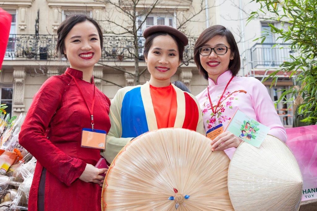 香港の女性